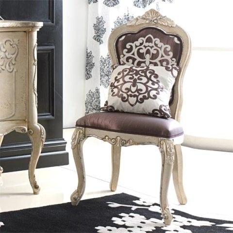 луксозен италиански трапезен стол модел Cresta фабрика Sevensedie