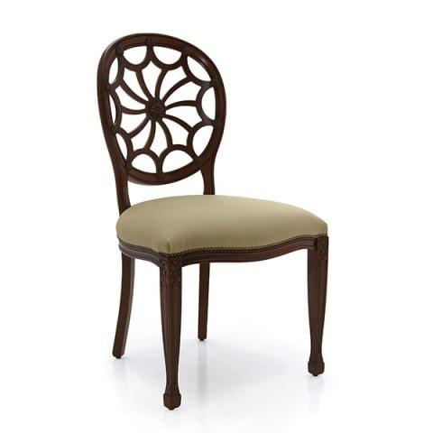 Луксозен класически трапезен стол модел Sole от Arreda Casa