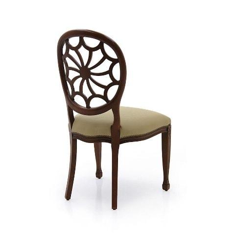 Италиански трапезен стол модел Sole от Arreda Casa, производител Sevensedie