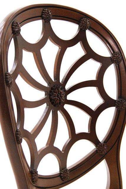 луксозен италиански трапезен стол модел Sole фабрика Sevensedie