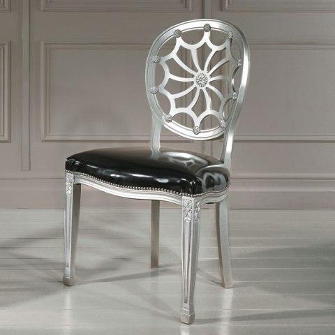 италиански трапезен стол в класически стил, модел Sole - Sevensedie