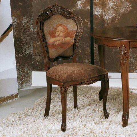 Италиански трапезен стол модел Taforata от Arreda Casa, производител Sevensedie