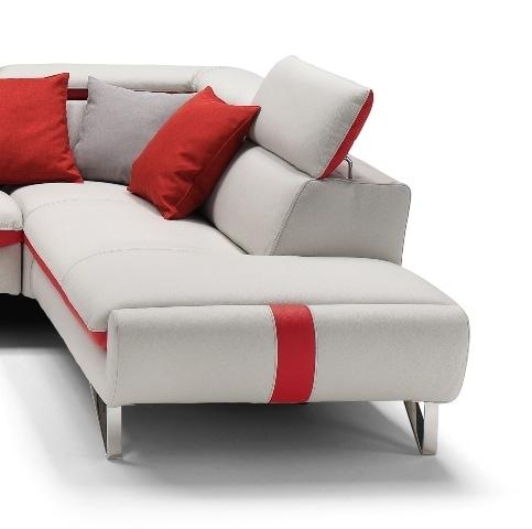 луксозен модулен диван Picasso в модерен стил с подсилване на седалката
