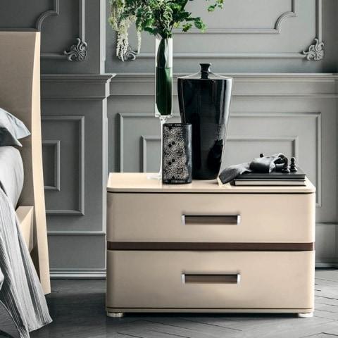 нощно шкафче на луксозна спалня Altea от италия - Camelgroup