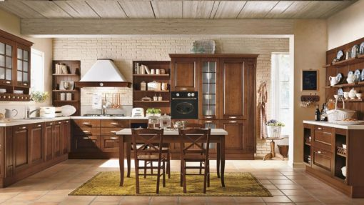 класическа италианска кухня модел Armonia производител Colombini Casa