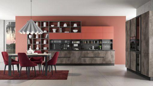Модулна италианска кухня модел Linea