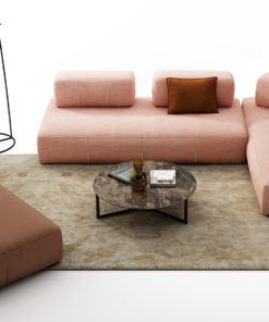 луксозен италиански модулен диван модел Bresso от Nicoline