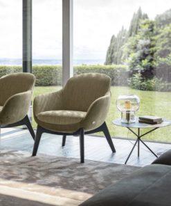 Луксозно италианско кресло модел Ghirla фабрика Nicoline