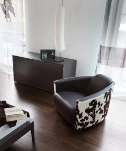 Италианско кресло модел Hotel от Arreda Casa, производител Calia