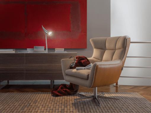 Италианско кресло модел Jacob от Arreda Casa, производител Calia