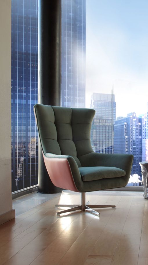 Луксозно италианско кресло модел Jacob фабрика Calia