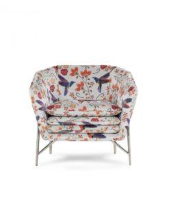Италианско кресло модел Mater от Arreda Casa, производител Calia