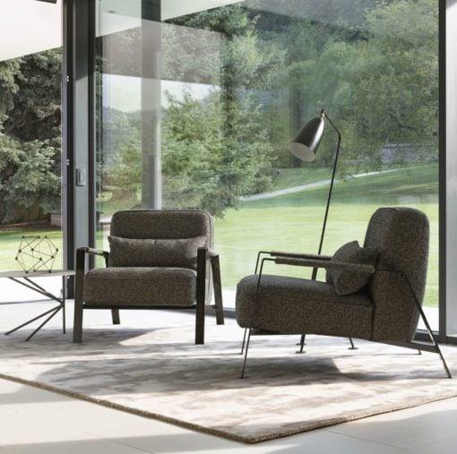 италианско кресло в модерен стил, модел Rho - Nicoline