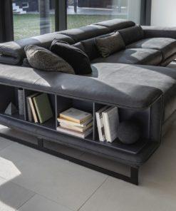 модулен диван Shelley с място за съхранение на книги - Nicoline