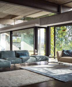 Луксозен модерен модулен диван модел Tortona Living от Arreda Casa