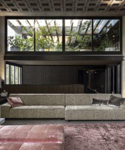 луксозен италиански модулен диван в модерен стил, модел Zara deep - Nicoline