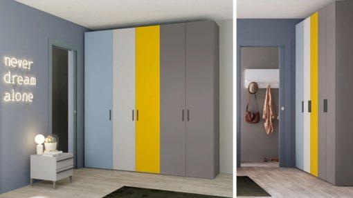 гардероб за Италианска спалня в модерен стил Edge Plus